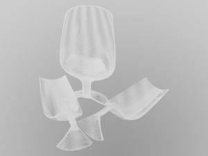 Diamantsäge sägt Glas
