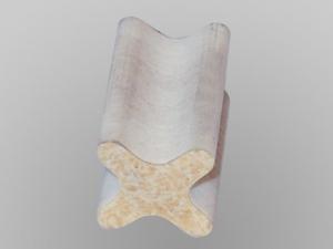 Diamantdrahtsäge sägt GFK in 2D