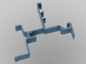 Diamantdrahtsäge sägt Grünkeramik in 2D