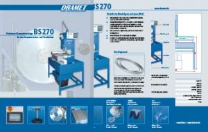 Broschuere Diamantsaege BS270 XY