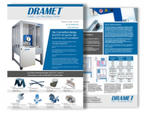 Brochure of the Diamond band saw BS270 F