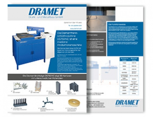 Brochure of the Diamond band saw DS 750 NC