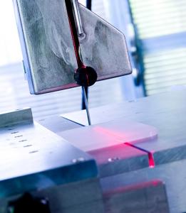 Diamantbandsäge BS200 S mit Laser von DRAMET