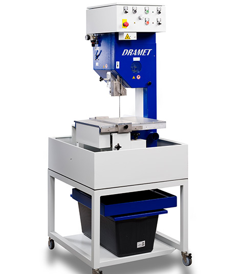 Diamond band saw BS200 S by DRAMET