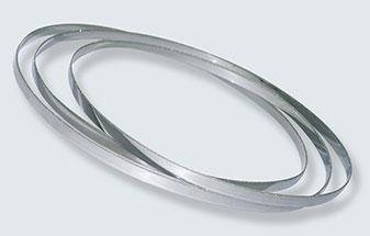 Herstellung von Diamantsägebändern
