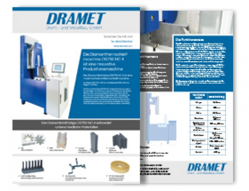 Brochure of the Diamond band saw DS750 NC 4